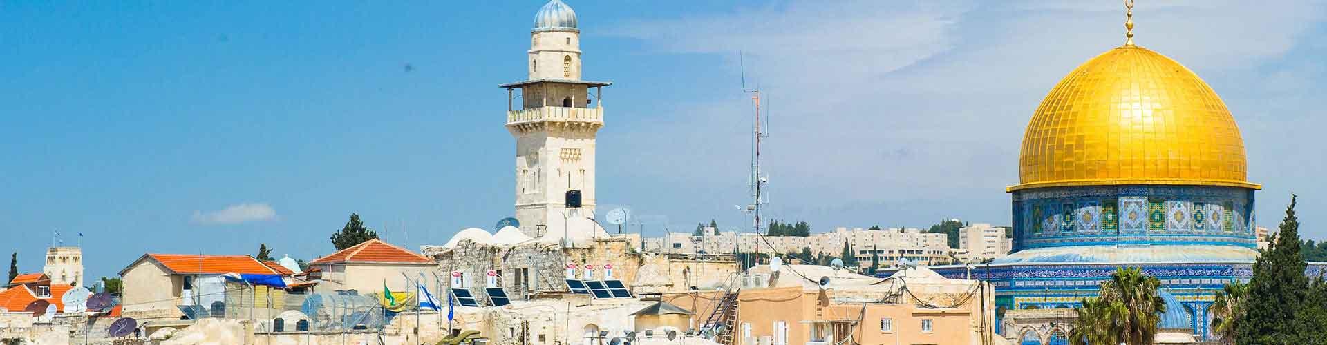 Jerusalem – Hostellit kohteessa Jerusalem. Jerusalem -karttoja, valokuvia ja arvosteluja kaikista Jerusalem -hostelleista.