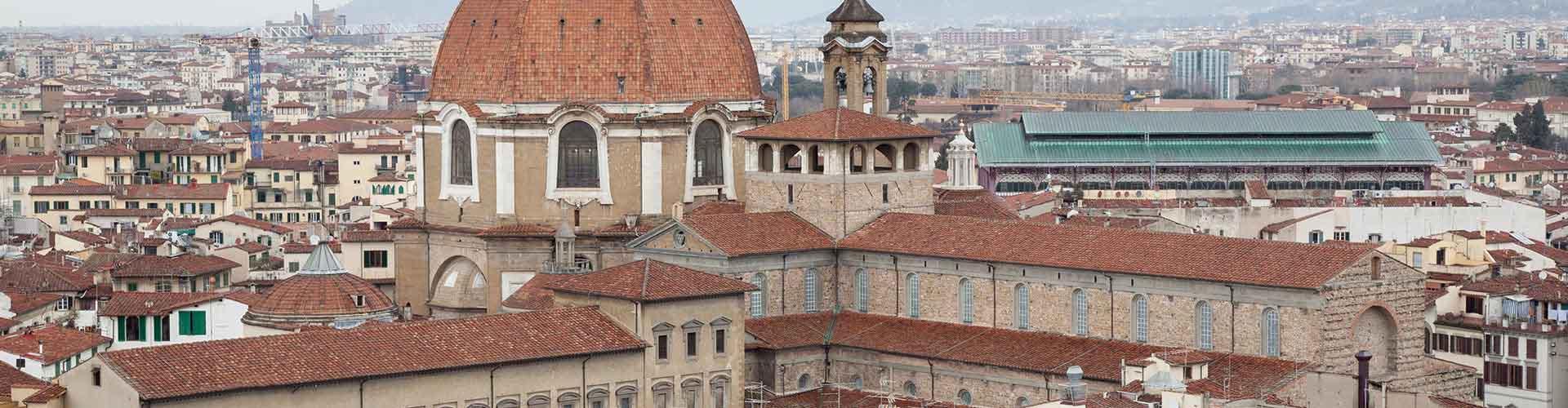 Firenze – Retkeily kaupungiosassa San Lorenzo. Firenze -karttoja, valokuvia ja arvosteluja kaikista Firenze -retkeilyalueista.