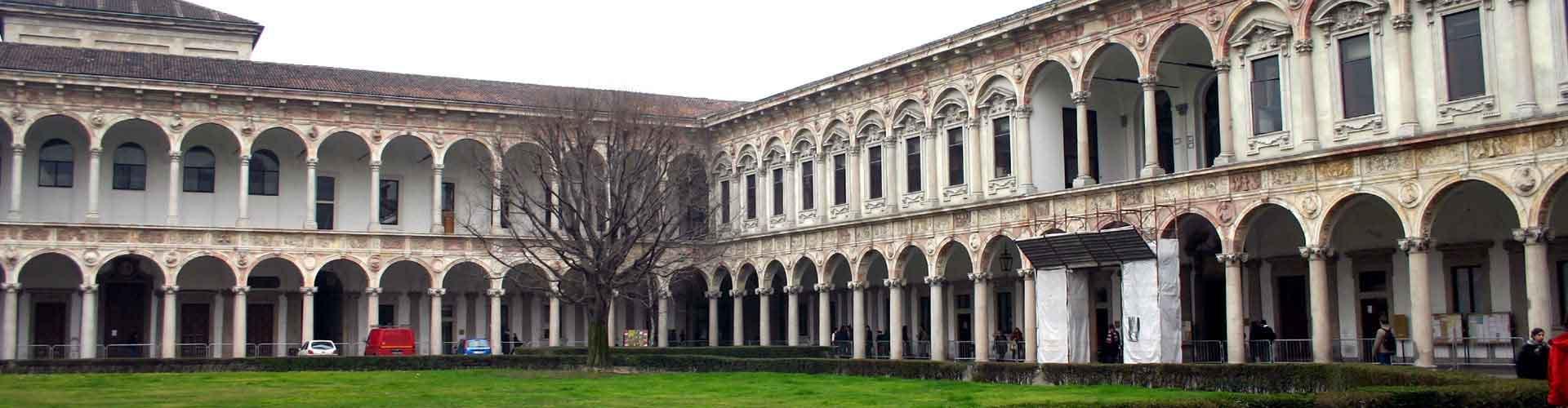 Milano – Huoneet kaupungiosassa Ospedale Maggiore. Milano -karttoja, valokuvia ja arvosteluja kaikista Milano -huoneista.