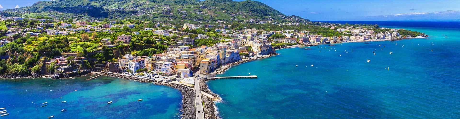 Ischia – Hostellit kohteessa Ischia. Ischia -karttoja, valokuvia ja arvosteluja kaikista Ischia -hostelleista.