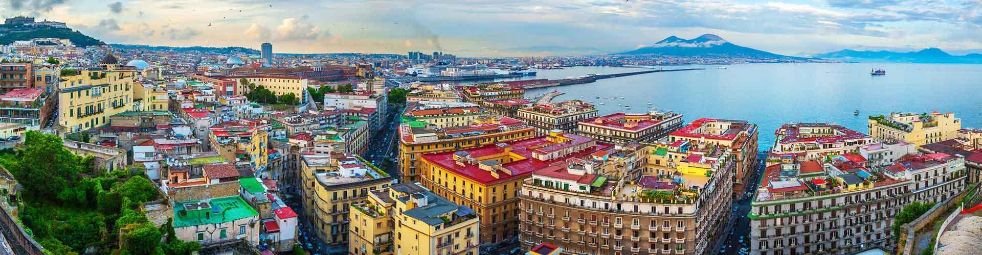 Napoli – Hostellit kaupungiosassa San Giuseppe. Napoli -karttoja, valokuvia ja arvosteluja kaikista Napoli -hostelleista.