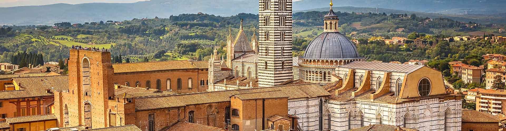 Siena – Hostellit kohteessa Siena. Siena -karttoja, valokuvia ja arvosteluja kaikista Siena -hostelleista.