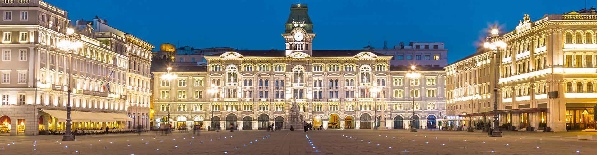 Trieste – Hostellit kohteessa Trieste. Trieste -karttoja, valokuvia ja arvosteluja kaikista Trieste -hostelleista.