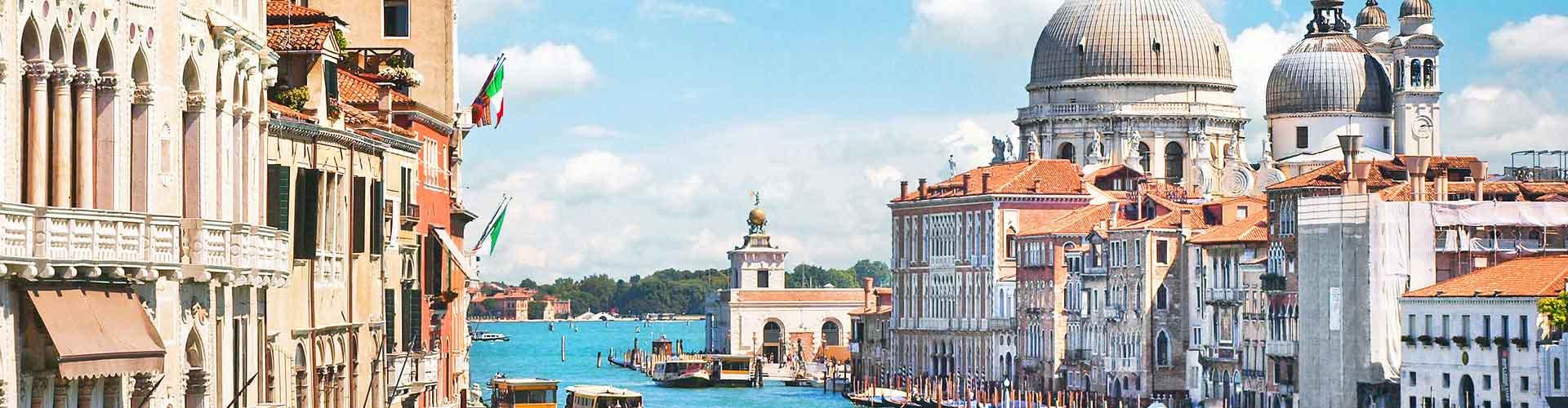 Venetsia – Hostellit kohteessa Venetsia. Venetsia -karttoja, valokuvia ja arvosteluja kaikista Venetsia -hostelleista.