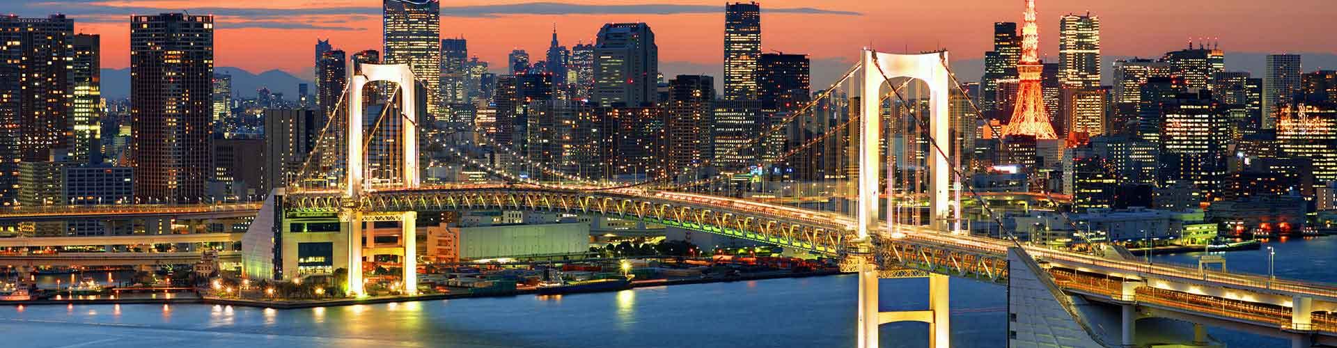 Tokio – Hostellit kohteessa Tokio. Tokio -karttoja, valokuvia ja arvosteluja kaikista Tokio -hostelleista.