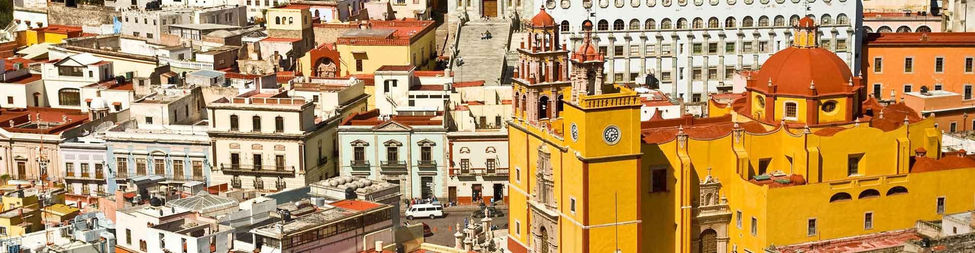 Guanajuato – Student accommodations, hostels and coworking spaces in Guanajuato (Meksiko). Maps of Guanajuato, photos and reviews for each place in Guanajuato.