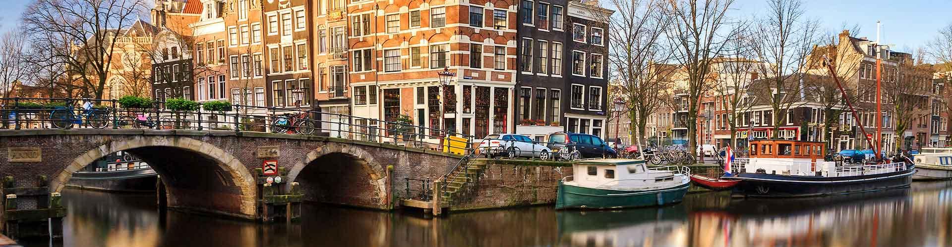 Amsterdam – Hostellit kaupungiosassa Westport. Amsterdam -karttoja, valokuvia ja arvosteluja kaikista Amsterdam -hostelleista.