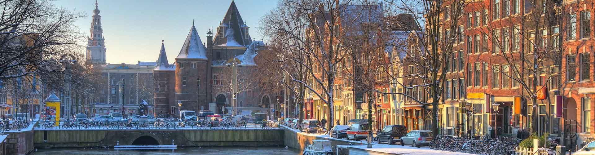 Amsterdam – Hostellit lähellä Nieuwmarkt. Amsterdam -karttoja, valokuvia ja arvosteluja kaikista Amsterdam -hostelleista.