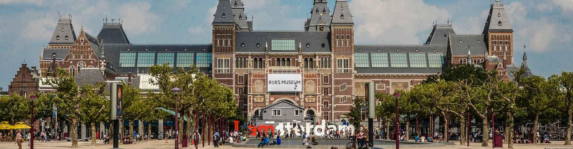 Amsterdam – Hostellit lähellä Rijksmuseum. Amsterdam -karttoja, valokuvia ja arvosteluja kaikista Amsterdam -hostelleista.