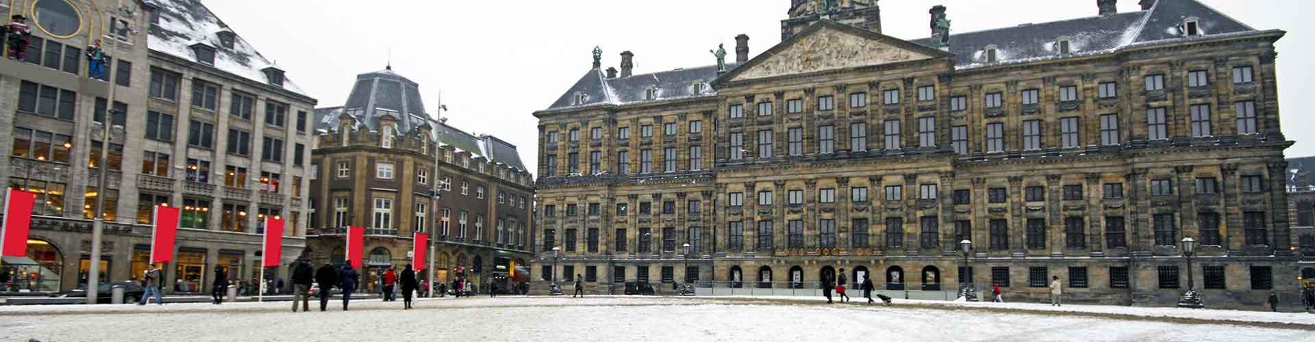 Amsterdam – Hostellit lähellä Kuninkaallinen palatsi. Amsterdam -karttoja, valokuvia ja arvosteluja kaikista Amsterdam -hostelleista.