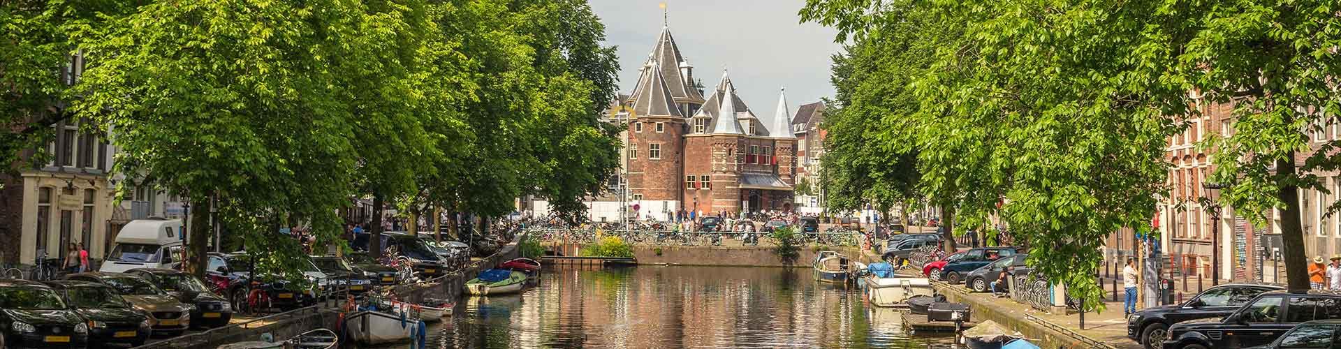 Amsterdam – Hostellit lähellä Weigh House. Amsterdam -karttoja, valokuvia ja arvosteluja kaikista Amsterdam -hostelleista.