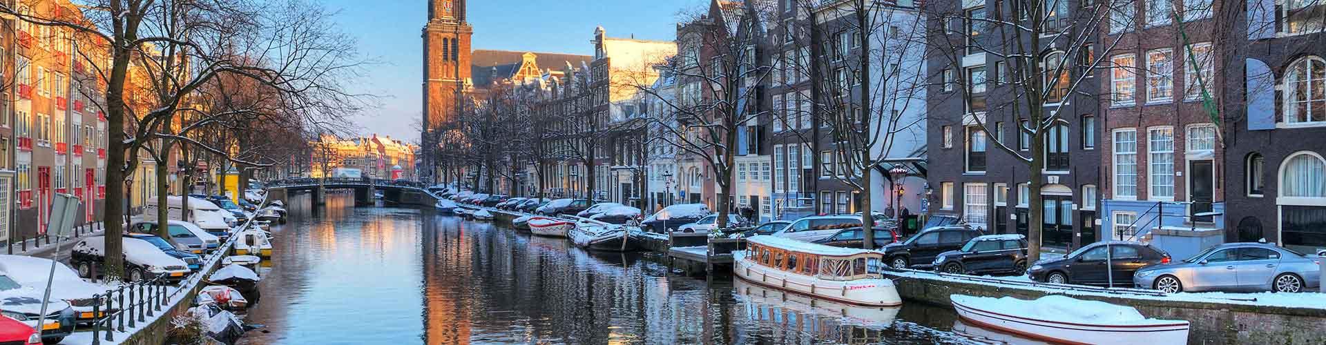 Amsterdam – Hostellit lähellä Westerkerk. Amsterdam -karttoja, valokuvia ja arvosteluja kaikista Amsterdam -hostelleista.