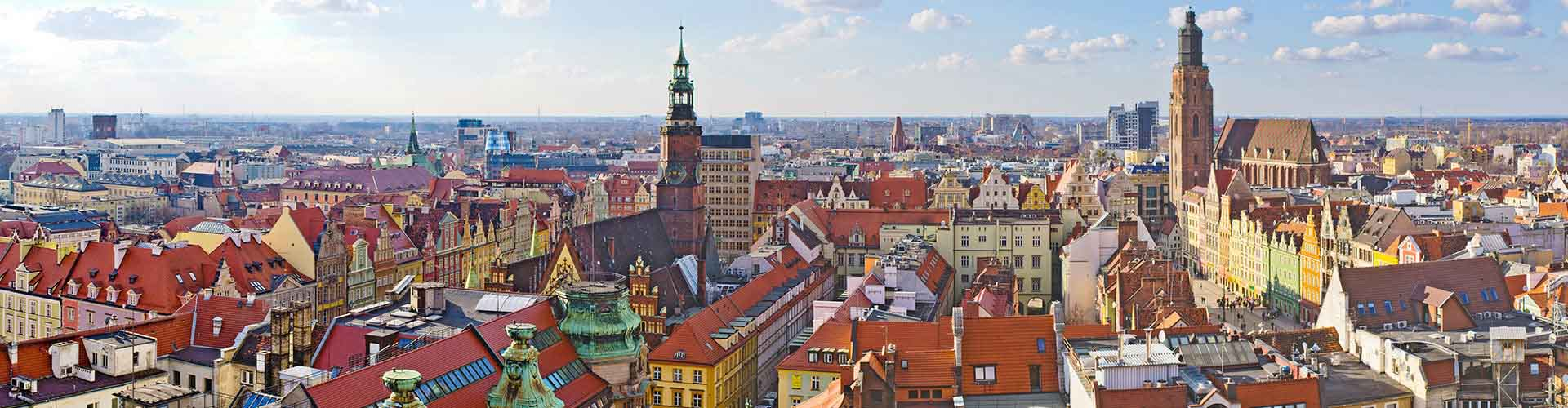 Wroclaw – Hostellit kohteessa Wroclaw. Wroclaw -karttoja, valokuvia ja arvosteluja kaikista Wroclaw -hostelleista.