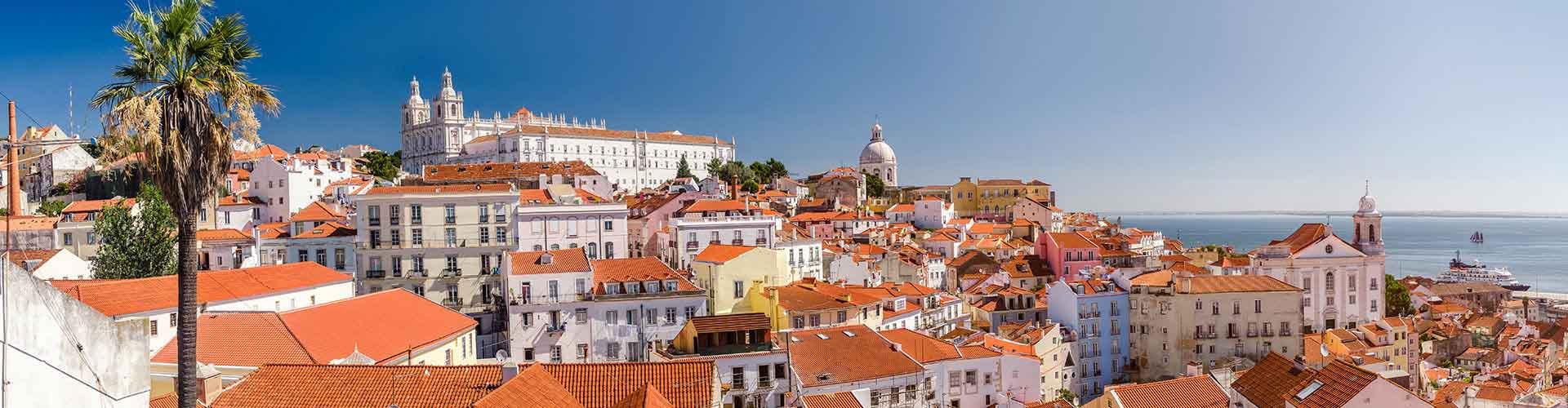 Lissabon – Retkeily kaupungiosassa Alfama. Lissabon -karttoja, valokuvia ja arvosteluja kaikista Lissabon -retkeilyalueista.