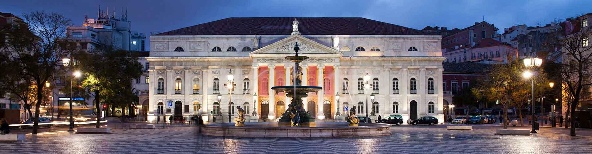 Lissabon – Hotellit kaupungiosassa Rossio. Lissabon -karttoja, valokuvia ja arvosteluja kaikista Lissabon -hotelleista.