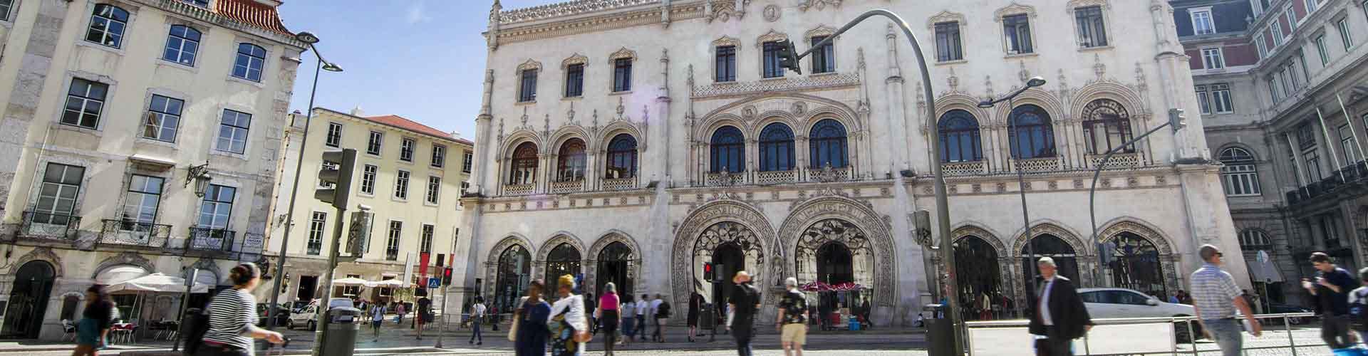 Lissabon – Hostellit lähellä Rossio rautatieasema. Lissabon -karttoja, valokuvia ja arvosteluja kaikista Lissabon -hostelleista.