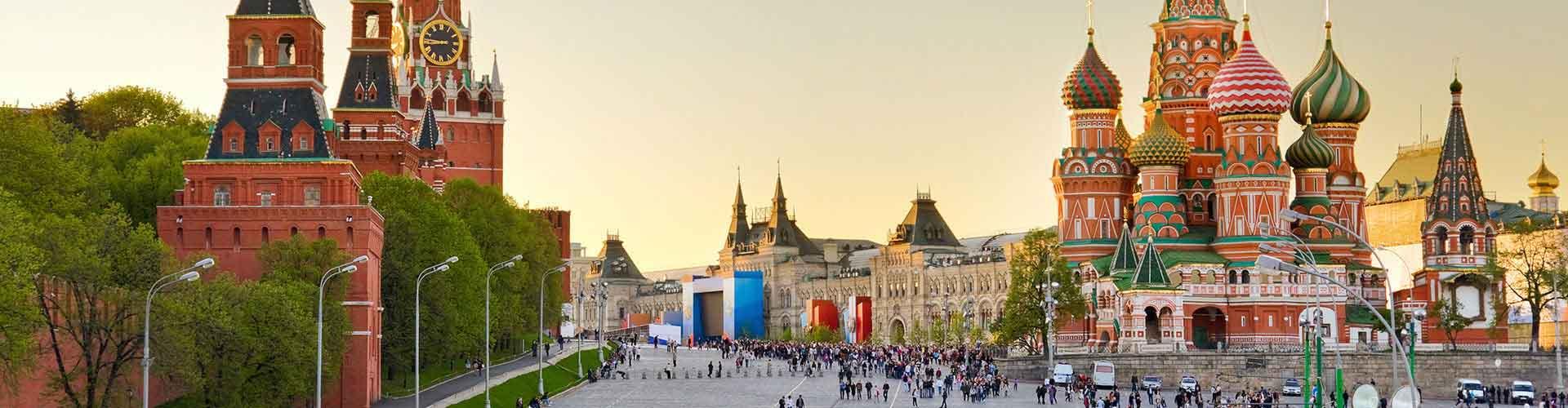 Moskova – Hostellit kohteessa Moskova. Moskova -karttoja, valokuvia ja arvosteluja kaikista Moskova -hostelleista.