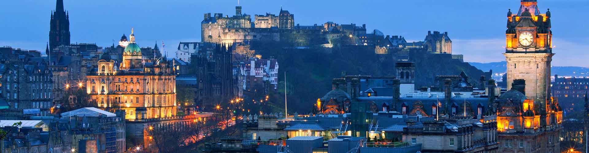 Edinburgh – Hostellit kohteessa Edinburgh. Edinburgh -karttoja, valokuvia ja arvosteluja kaikista Edinburgh -hostelleista.