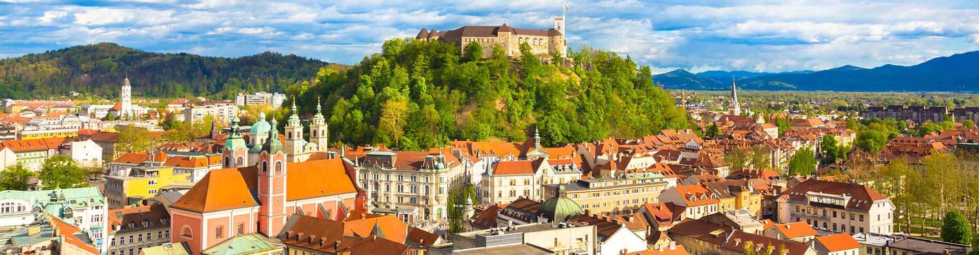 Ljubljana – Hostellit kohteessa Ljubljana. Ljubljana -karttoja, valokuvia ja arvosteluja kaikista Ljubljana -hostelleista.