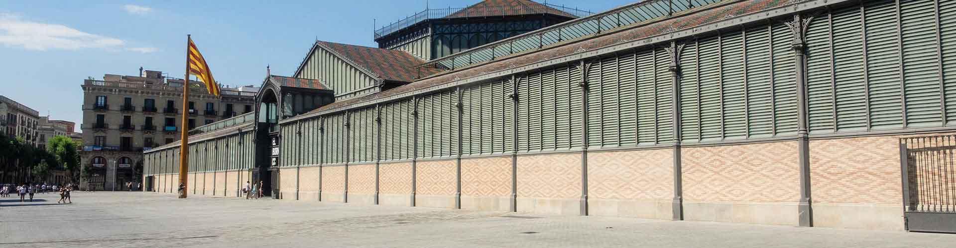 Barcelona – Retkeily kaupungiosassa Born. Barcelona -karttoja, valokuvia ja arvosteluja kaikista Barcelona -retkeilyalueista.