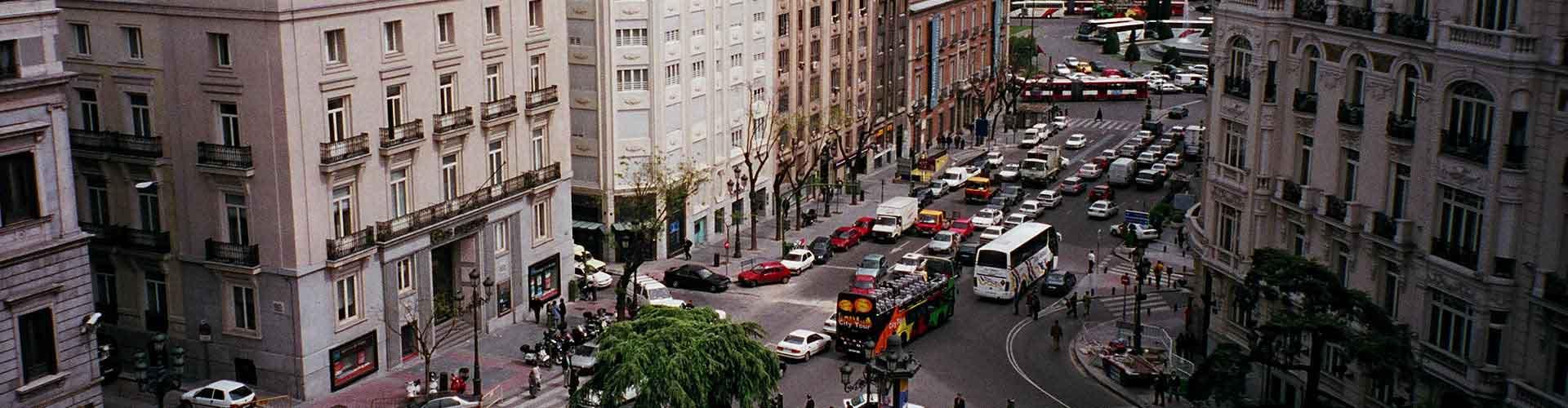 Madrid – Hostellit kaupungiosassa Cortes. Madrid -karttoja, valokuvia ja arvosteluja kaikista Madrid -hostelleista.