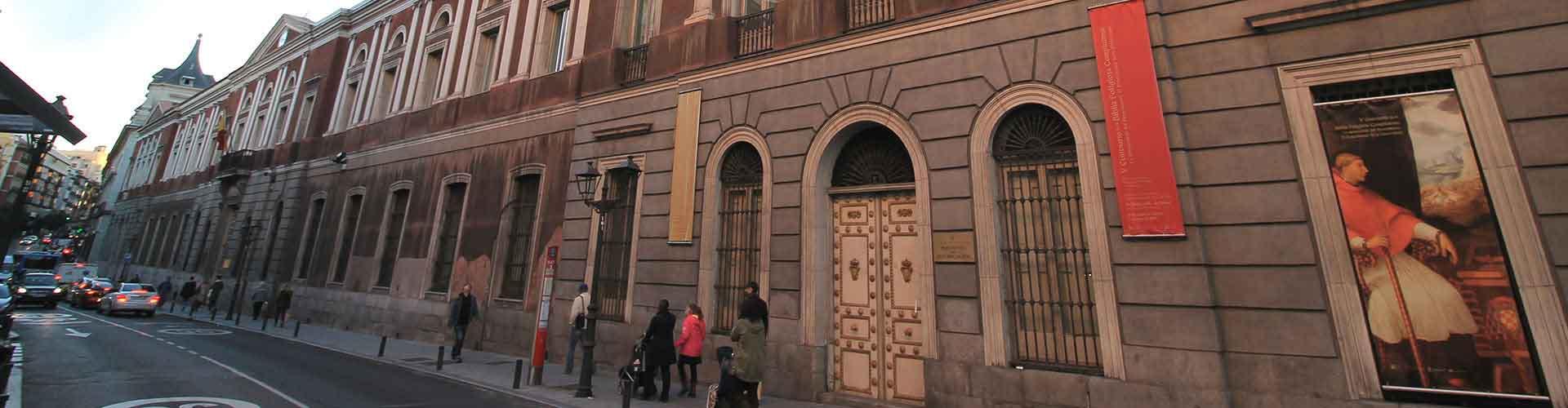 Madrid – Hostellit kaupungiosassa Universidad. Madrid -karttoja, valokuvia ja arvosteluja kaikista Madrid -hostelleista.