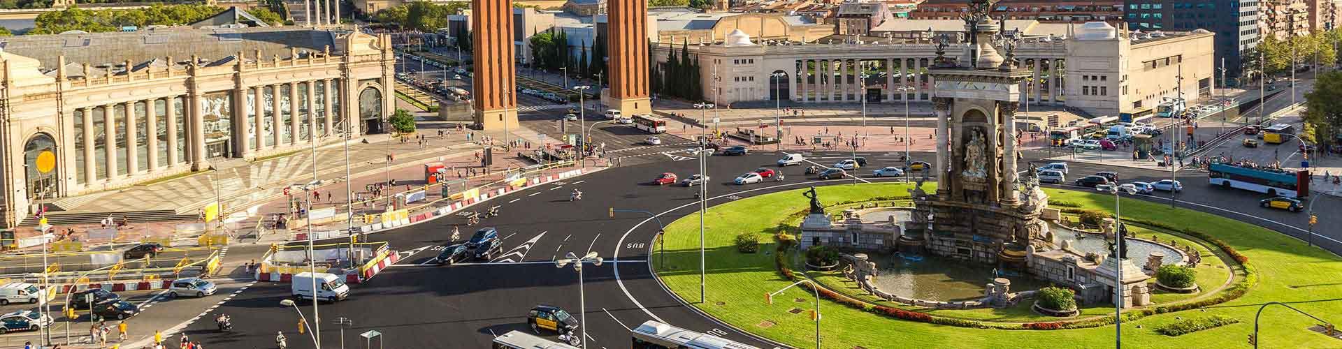 Barcelona – Hostellit lähellä Kupungin keskusta. Barcelona -karttoja, valokuvia ja arvosteluja kaikista Barcelona -hostelleista.
