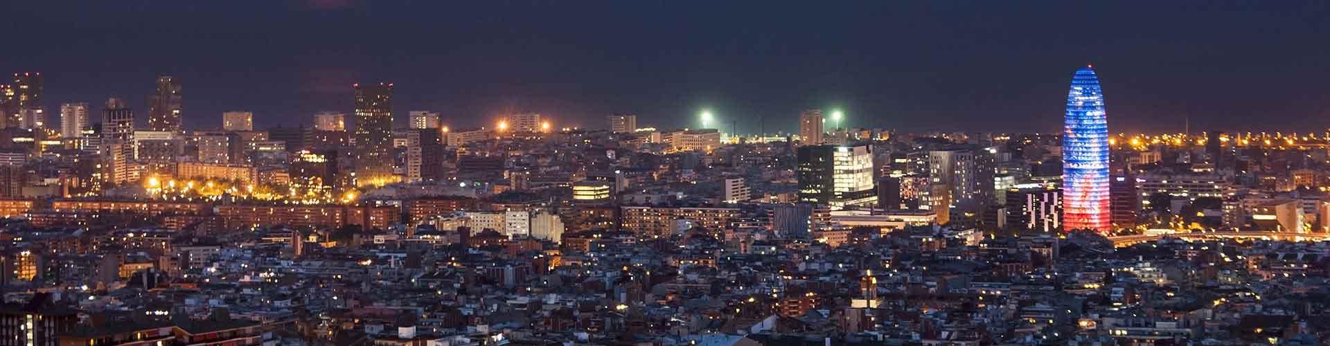 Barcelona – Hostellit lähellä Torre Agbar. Barcelona -karttoja, valokuvia ja arvosteluja kaikista Barcelona -hostelleista.