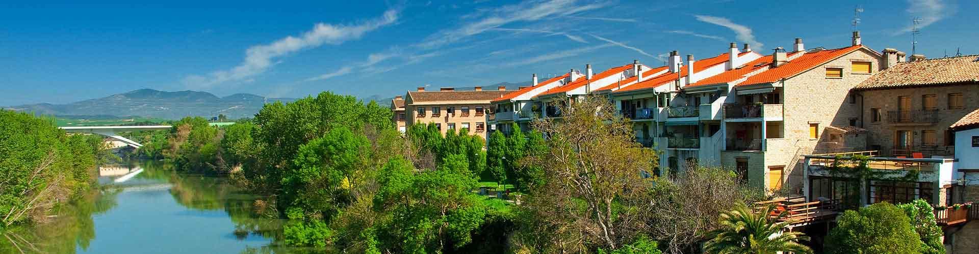 Pamplona – Hostellit kohteessa Pamplona. Pamplona -karttoja, valokuvia ja arvosteluja kaikista Pamplona -hostelleista.
