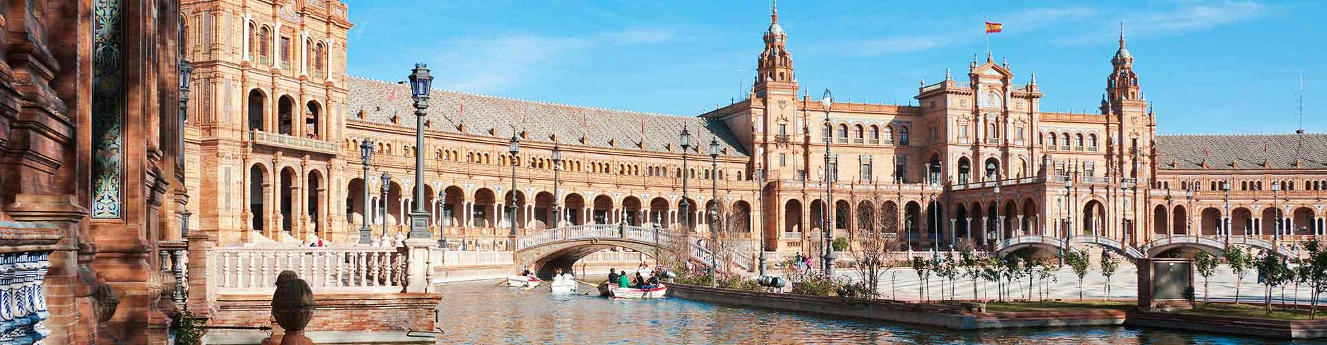 Sevilla – Hostellit kohteessa Sevilla. Sevilla -karttoja, valokuvia ja arvosteluja kaikista Sevilla -hostelleista.