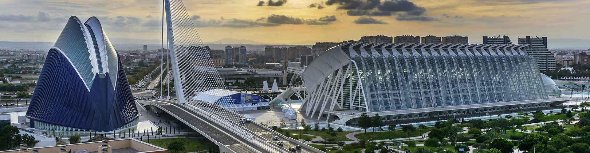 Valencia – Huoneistot lähellä maamerkkiä Valencia lentokenttä. Valencia -karttoja, valokuvia ja arvosteluja kaikista Valencia -huoneistoista.