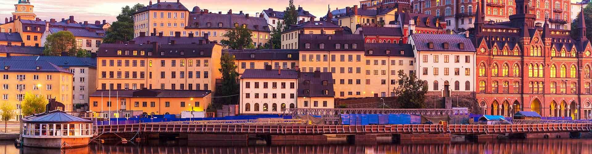 Tukholma – Hostellit kaupungiosassa Södermalm. Tukholma -karttoja, valokuvia ja arvosteluja kaikista Tukholma -hostelleista.