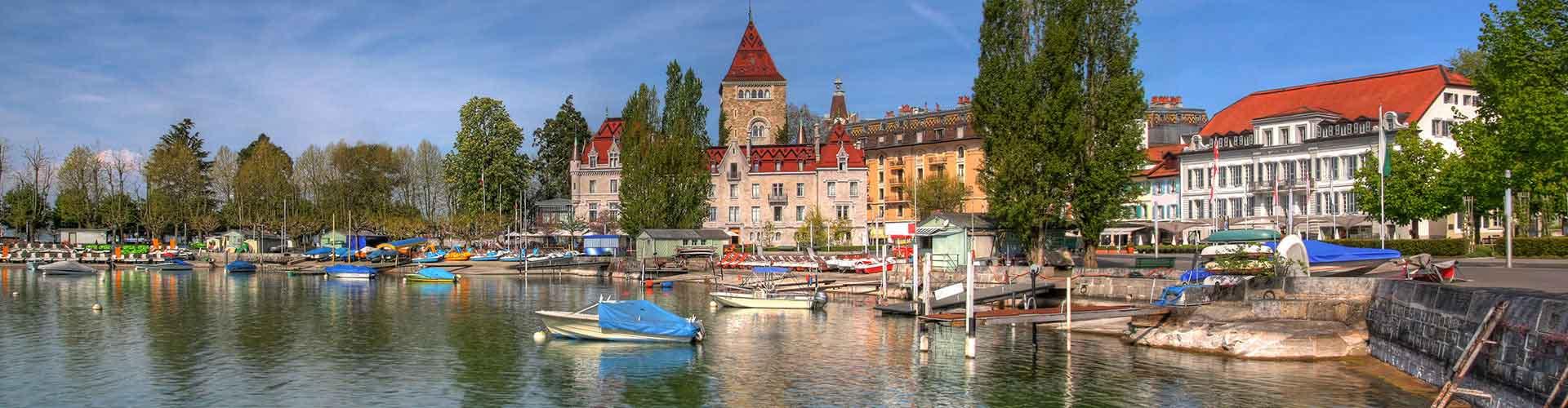 Lausanne – Hostellit kohteessa Lausanne. Lausanne -karttoja, valokuvia ja arvosteluja kaikista Lausanne -hostelleista.