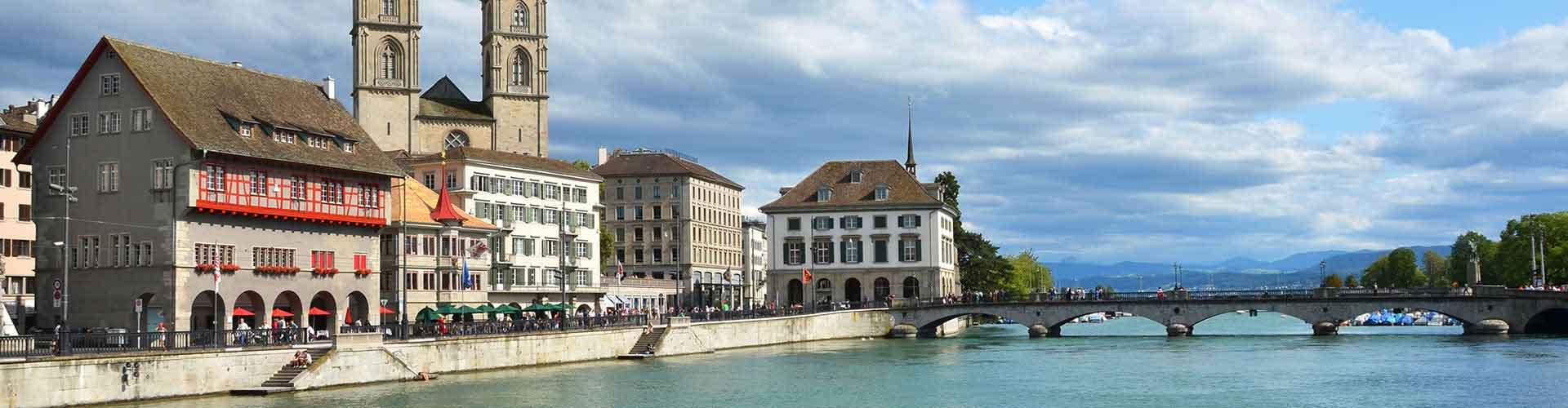 Zurich – Hotellit lähellä maamerkkiä Zurich lentokenttä. Zurich -karttoja, valokuvia ja arvosteluja kaikista Zurich -hotelleista.