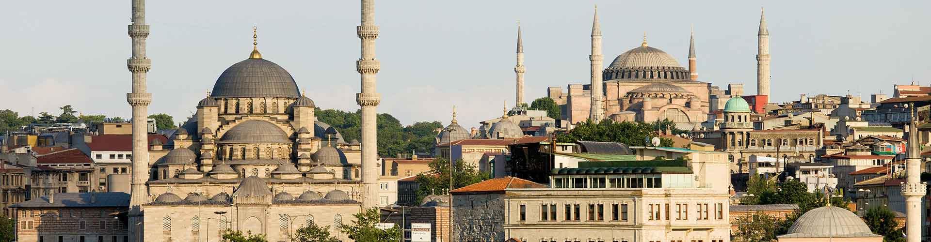 Istanbul – Hostellit kohteessa Istanbul. Istanbul -karttoja, valokuvia ja arvosteluja kaikista Istanbul -hostelleista.