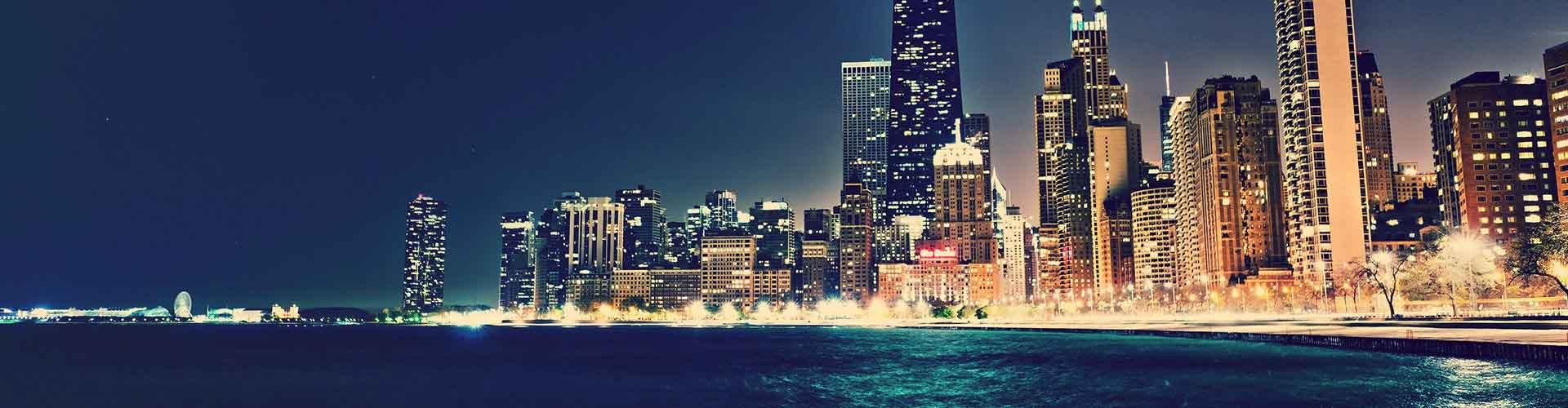 Chicago – Hostellit kohteessa Chicago. Chicago -karttoja, valokuvia ja arvosteluja kaikista Chicago -hostelleista.
