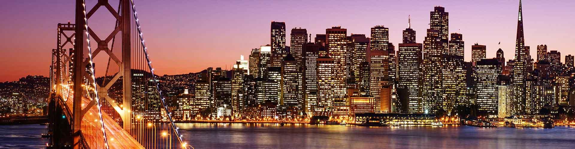 San Francisco – Hostellit kohteessa San Francisco. San Francisco -karttoja, valokuvia ja arvosteluja kaikista San Francisco -hostelleista.