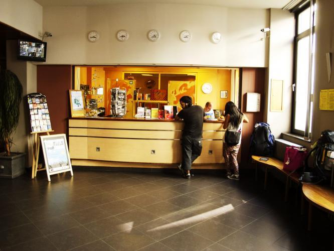 Our reception's staff always ready to welcome you !