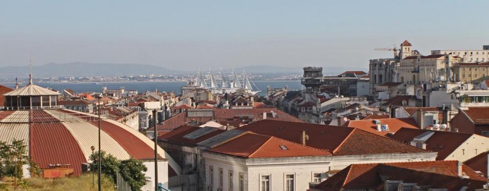 Panorama hostellilta