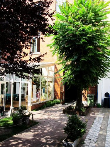 our green corner in the middle of the capital of Europe