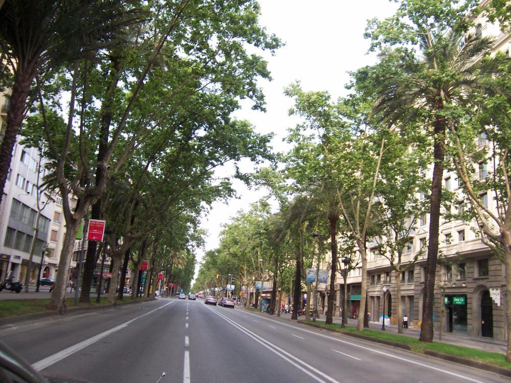 Barcelonan Diagonal-katu