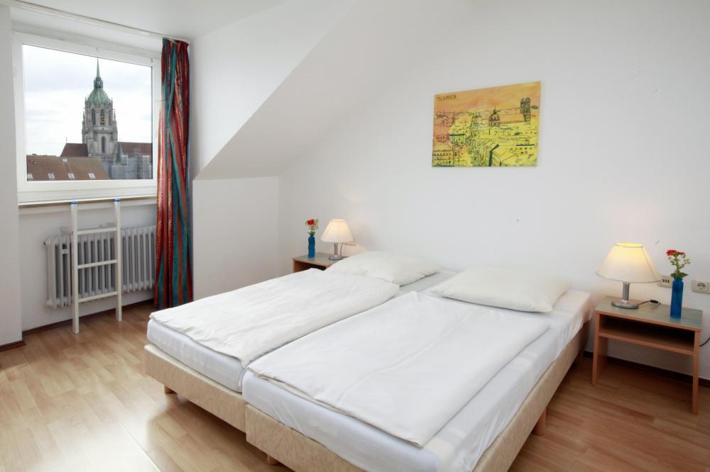 A & O München HB Hostel kahden hengen huone