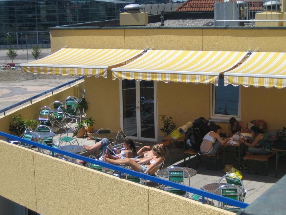 A & O München Laim Hostel -terassi