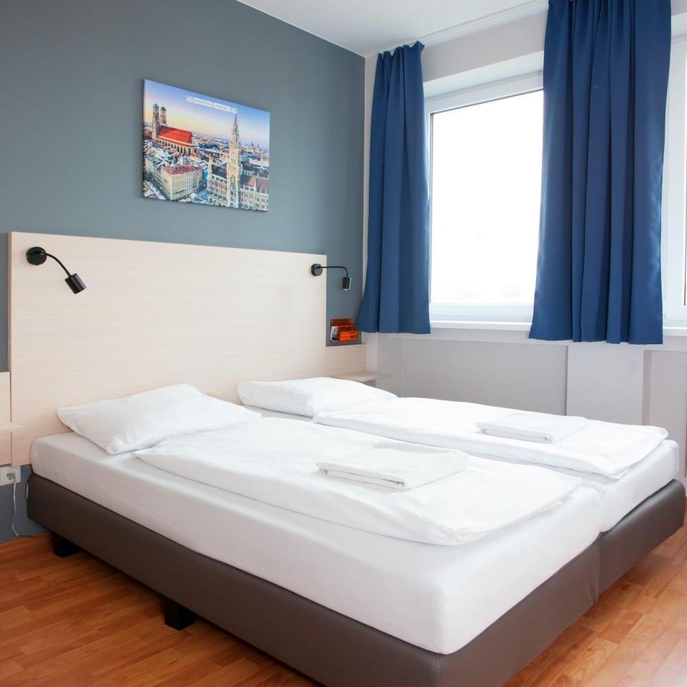 A & O München Laim Hostel Kaksoishuone