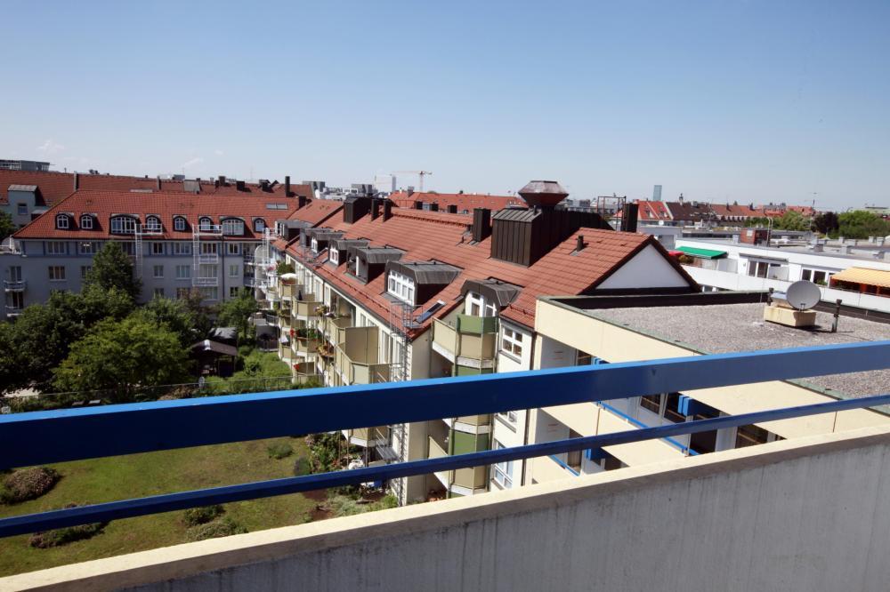 A & O Münchenin Hackerbrücke Hostel kattokerroksessa