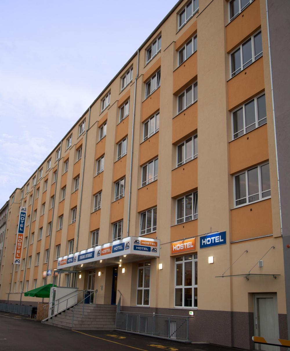 A & O Wienin HB Hostel -rakennus