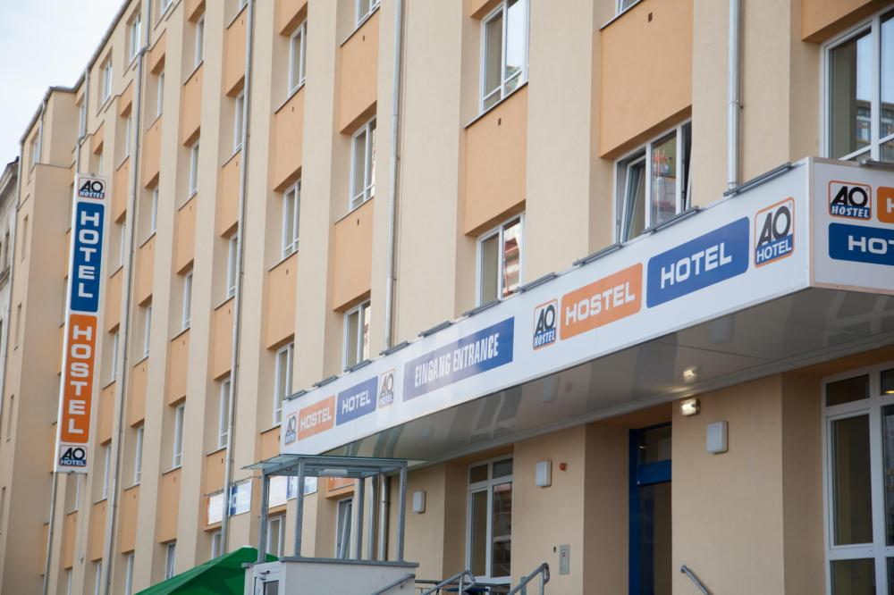 A & O Wienin HB Hostelin julkisivu