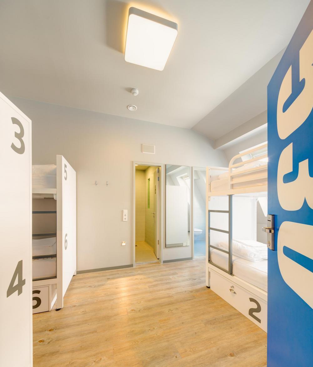 6-kerroksinen asuntomalli