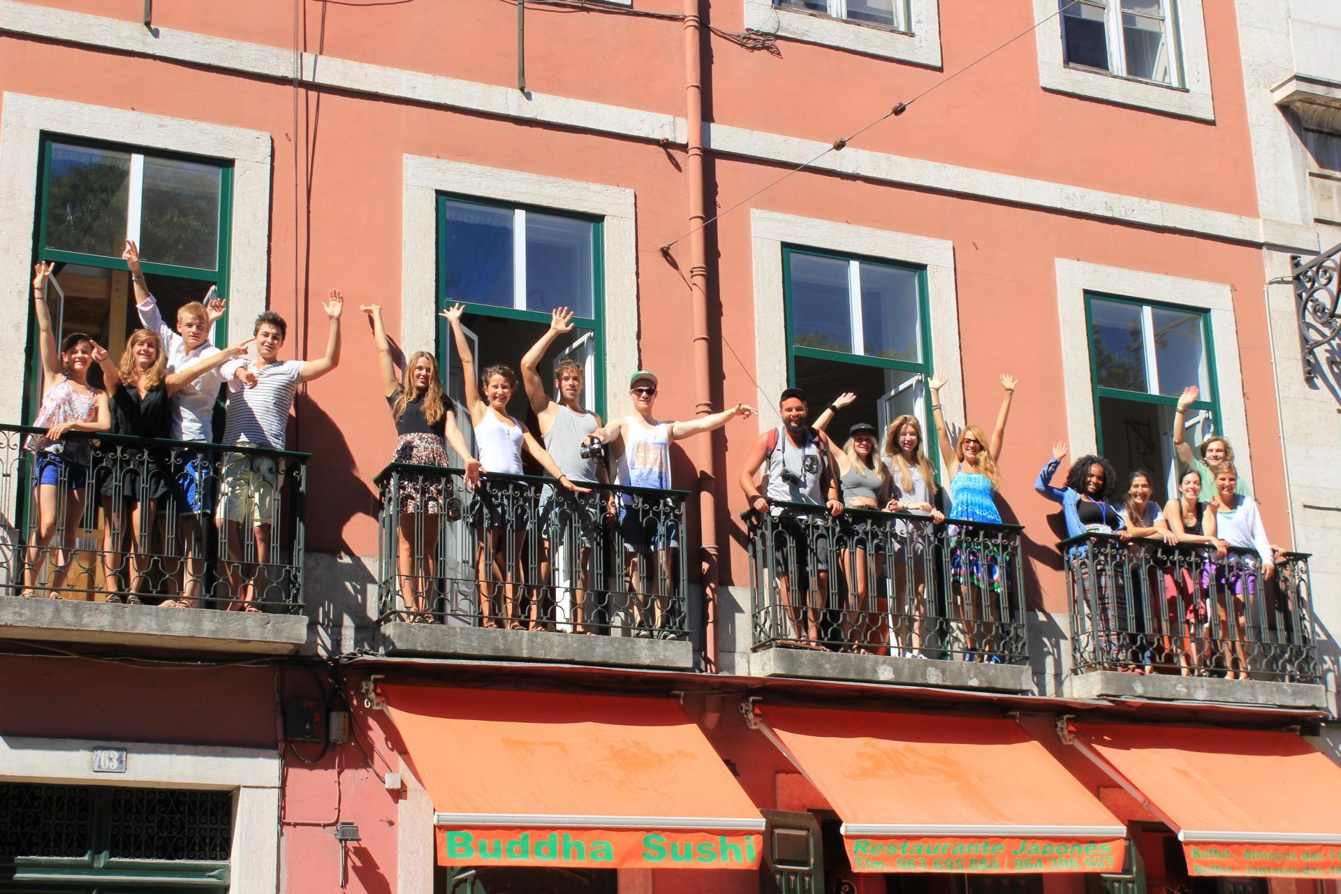 Lookout Lisbon! Hostel