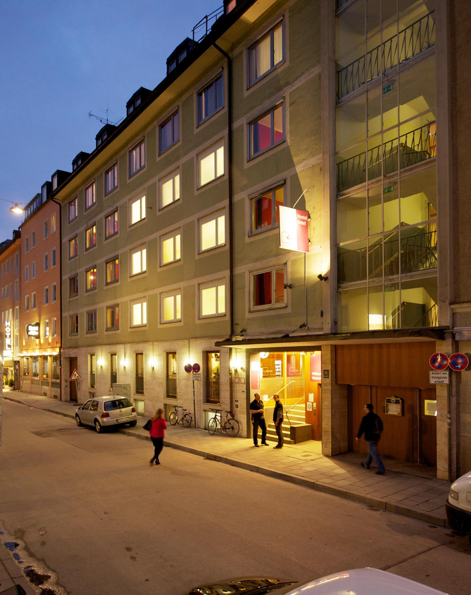 THE 4YOU Hostel & Hotel Munich